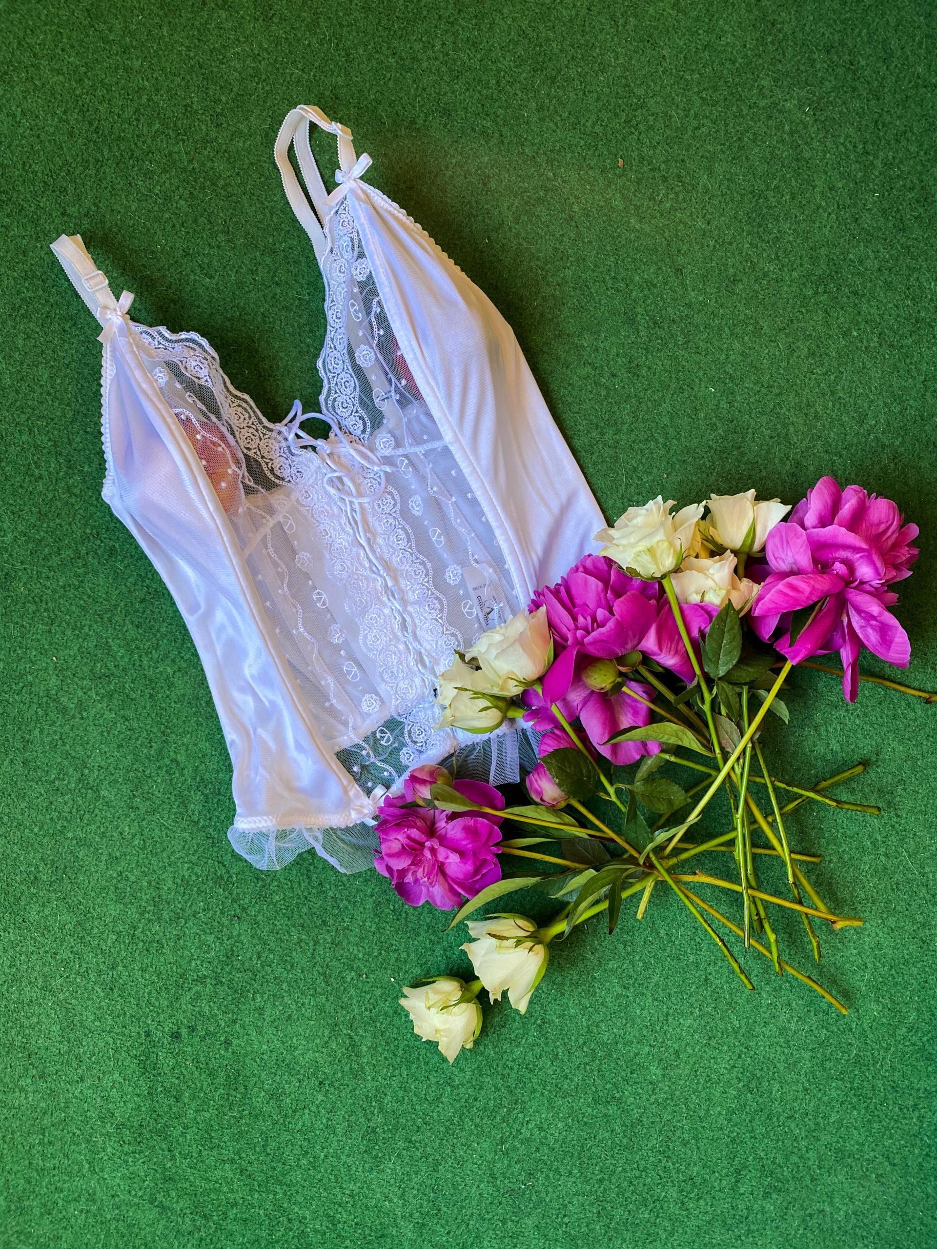 Une pièce plusieurs possibilités / How to wear : corset (Fr/En)