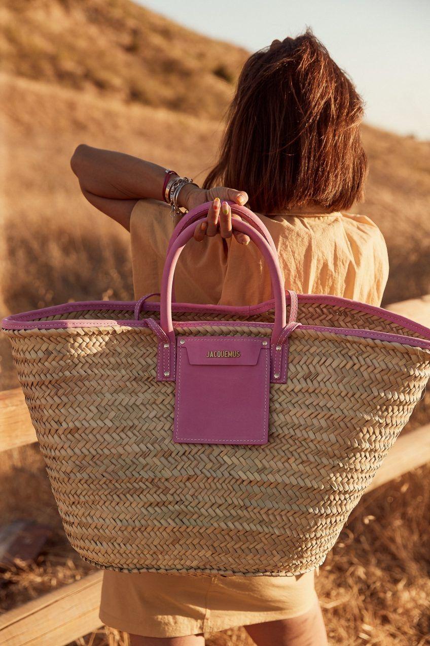 Le panier it bag de nos étés / Summer it accessory : the straw bag (Fr/En)